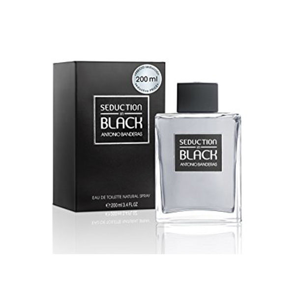Antonio Banderas Seduction In Black 6.75 Perfume for Men