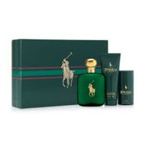 Ralph Lauren Polo Green 3PC Men Set Perfume